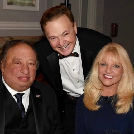 With John and Margo Catsimatidis