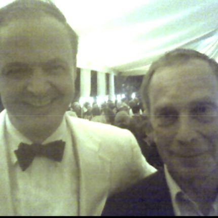 With former NYC Mayor Michael Bloomberg