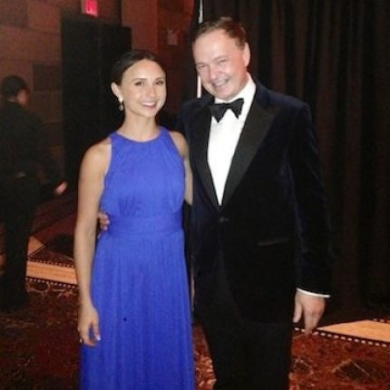 With Georgina Bloomberg