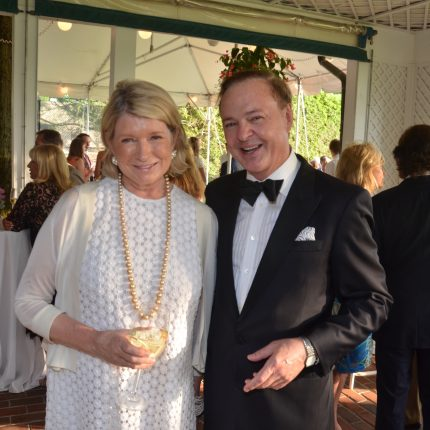 Alex Donner with Martha Stewart