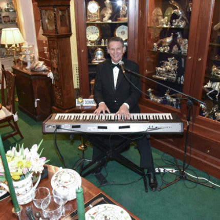 Piano Player Rich at Park Avenue Gala