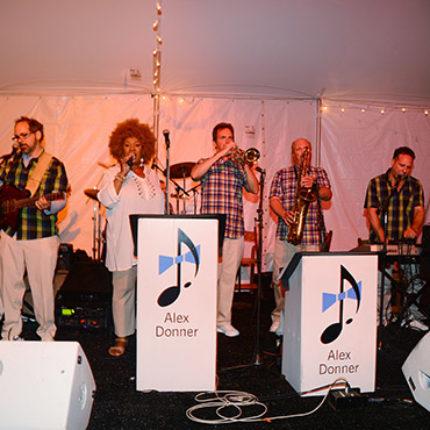 Musicians at Southampton Hospital Gala, 2014