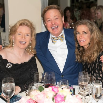 Alex Donner with Patricia Duncan and Pamela O'Connor, French Heritage Gala 2018