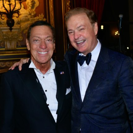 Alex Donner with Joe Piscopo