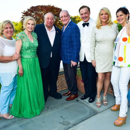 Cocktails For Stony Brook Southampton Hospital – Rebecca Seawright, Carolyn Maloney, John Catsimatidis, Bruce Mosler, Alex Donner, Margo Catsimatidis, Cindy Farkas Glanzrock